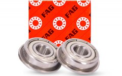 Why is the cleaning of FAG bearings important?